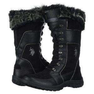 Ladies Womens HV Polo Moreno Wintershoes Winter Stiefel Shoes Boots Size 7 40 EU